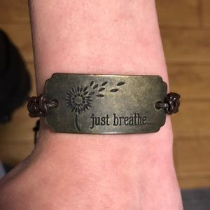 Jewelry - Just Breathe Bracelet
